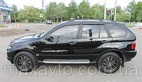 Дефлекторы окон BMW X5 2004-2006 (E53) (БМВ Х5) SIM