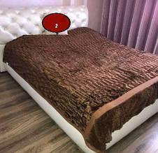 Мягкий теплый практичный плед Норка Bona Vita 2-11