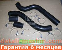 Патрубки радиатора ВАЗ 2108 2109 21099 2113 2114 2115 (шланги + хомут) №86РШХ (пр-во БРТ)