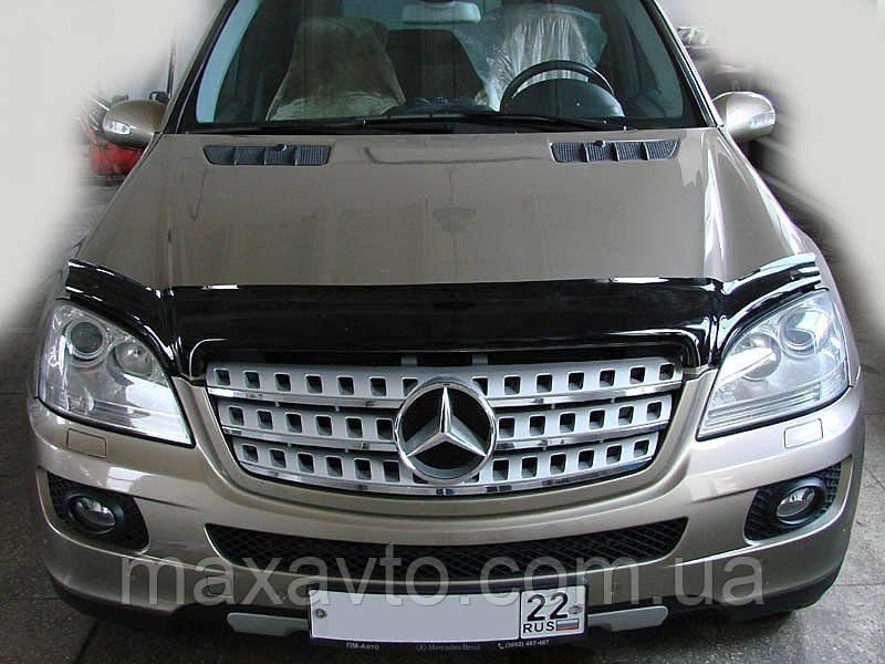 Мухобойка Mercedes M-Class 2005-2011 (Мерседес М-Класс) SIM