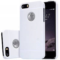Чехол Nillkin frosted back cover для iPhone 5 5s Белый BS-000041589, КОД: 291058