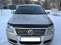 Мухобойка +на капот  Volkswagen PASSAT 2006-2010 (Фольксваген Пассат) SIM
