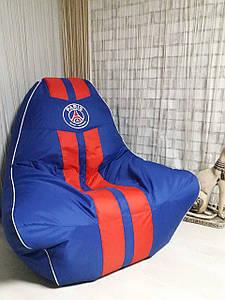 Кресло мешок Ферари+КУБИК  , бескаркасное кресло груша , мягкий пуфик, бескаркасная мебель, мебель Лофт,