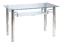 Стол обеденный стеклянный Reni A 65x120 Signal