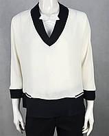 6cc9f63b5bb Женская блузка с блузка с белым воротником в Украине. Сравнить цены ...