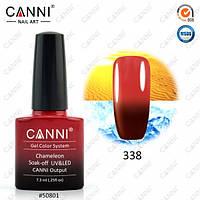 Термо гель- лак Canni 338 7,3мл