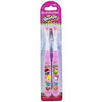 Зубная щетка Shopkins, мягкая, 2 шт., Brush Buddies