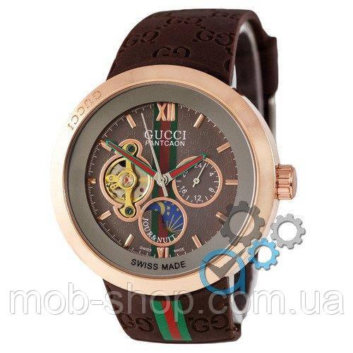 Наручные часы Gucci Pantcaon Brown-Gold-Brown