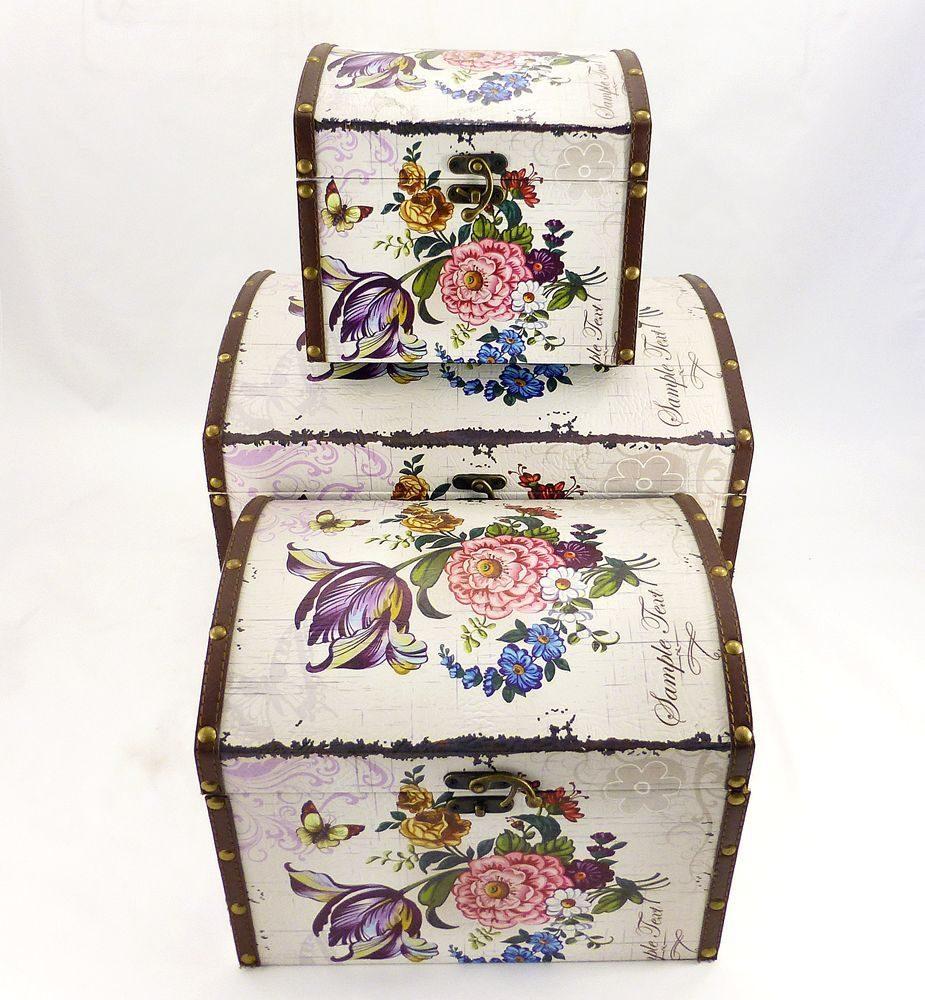 Сувенірні скриньки з квітами