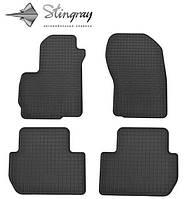 Коврики в салон автомобиля Citroen C-crosser 07 (Ситроен) (2 шт) передние, Stingray