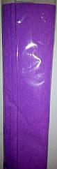 Креп-папір 50*250см, 32г/м2, Heyda  Світло фіолетовий