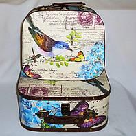 Чемодан набор из 2-х – Птица