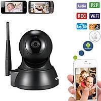 Охранная беспроводная Wi-Fi IPcam ESCAM QF007 720P. Ночное видение Видео и радионяня. Датчик движения.  iCSee