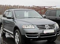 Дефлекторы окон VW Touareg I 2003-2007; 2007 (Фольксваген Туарег) Cobra Tuning