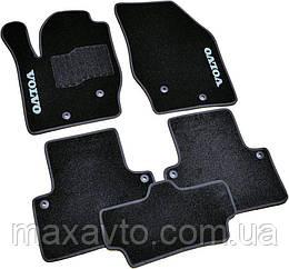 Коврики в салон ворс Volvo XC90 (2002-2015) /Чёрные