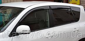 Дефлекторы боковых стекол Toyota Rav 4 III 5d 2006 (длинная база) (Тойота Рав 4) Cobra Tuning