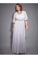 Элегантное,шифоновое платье, фото 1