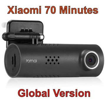 Відеореєстратор Xiaomi 70 Minutes (70mai) 1080P WiFi Car DVR Black Оригінал