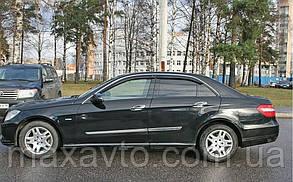 Дефлекторы стекол Mercedes Benz E-klasse Sd (W212) 2009 (Мерседес-бенц Е-класс) Cobra Tuning