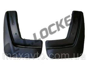 Брызговики Chevrolet Aveo II SD (12-) (Шевроле Авео 2) (2 шт) задние (Lada Locker)