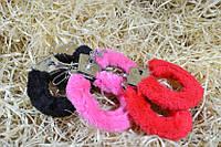 Меховые  наручники