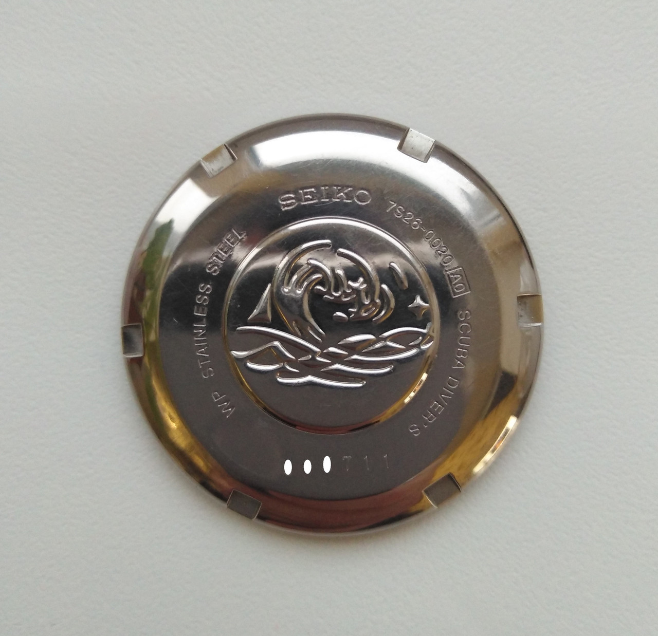 Задняя крышка часов Seiko SKX007