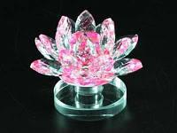 Цветок лотос из хрусталя