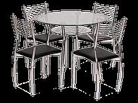 Стол обеденный стеклянный Molar Signal черный