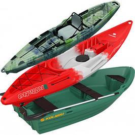 Пластиковые каяки и корпусные лодки
