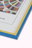 Рамка а3 из пластика - Жовто-блакитна, фото 2