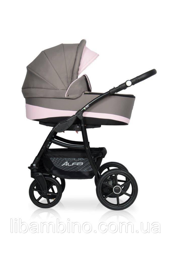 Дитяча універсальна коляска 2 в 1 Riko Alfa Ecco 09