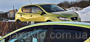 Боковые дефлекторы Seat Ibiza IV Hb 5d 2009 (Сеат ибица) Cobra Tuning