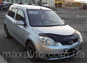 Дефлекторы стекол Mazda Demio 2003/Mazda 2 2003-2007 (Мазда демио) Cobra Tuning