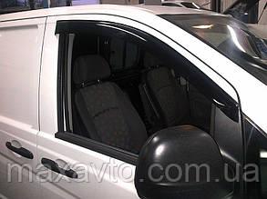 Дефлекторы стекол Mercedes Benz Vito (W639) 2002 (Мерседес-бенц Вито) Cobra Tuning
