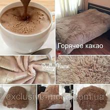 Мягкий теплый практичный плед Травка Bona Vita евро 17-15
