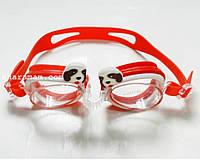 Плавательные очки для детей «Зоопарк». Цвет красный, фото 1