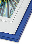 Рамка а3 из пластика - Синий яркий металлик, фото 2