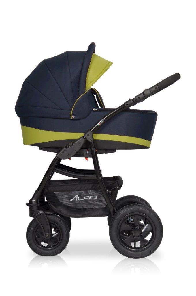 Дитяча універсальна коляска 2 в 1 Riko Alfa 01