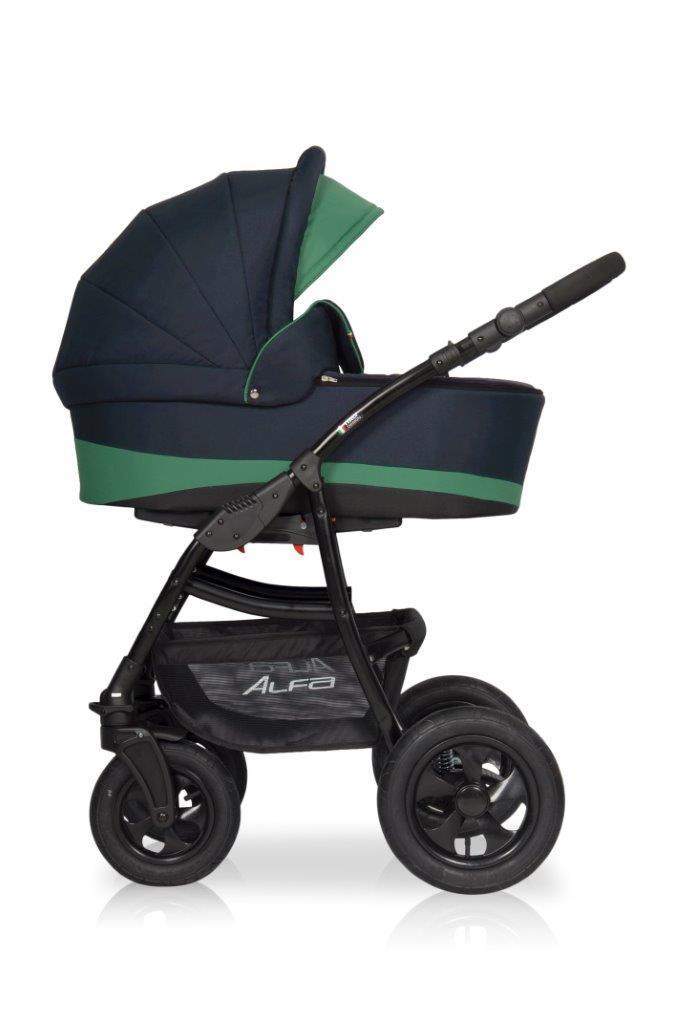 Детская универсальная коляска 2 в 1 Riko Alfa 02