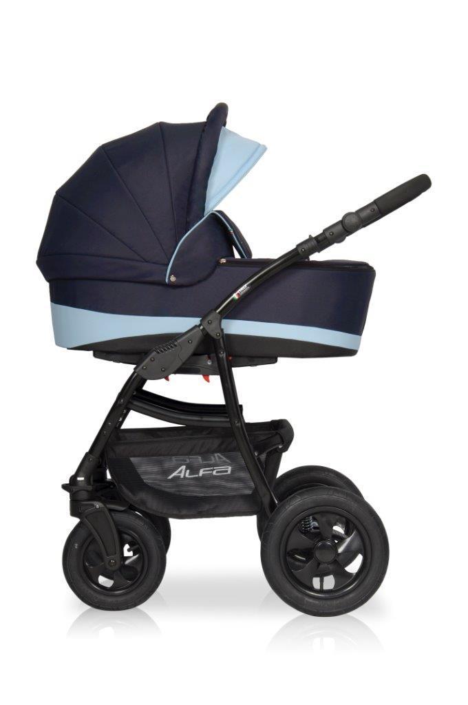Детская универсальная коляска 2 в 1 Riko Alfa 03