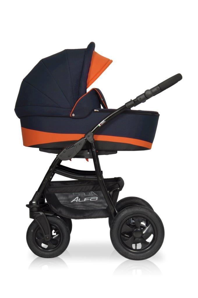 Детская универсальная коляска 2 в 1 Riko Alfa 04