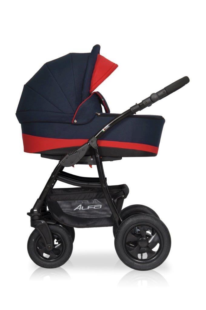 Детская универсальная коляска 2 в 1 Riko Alfa 07