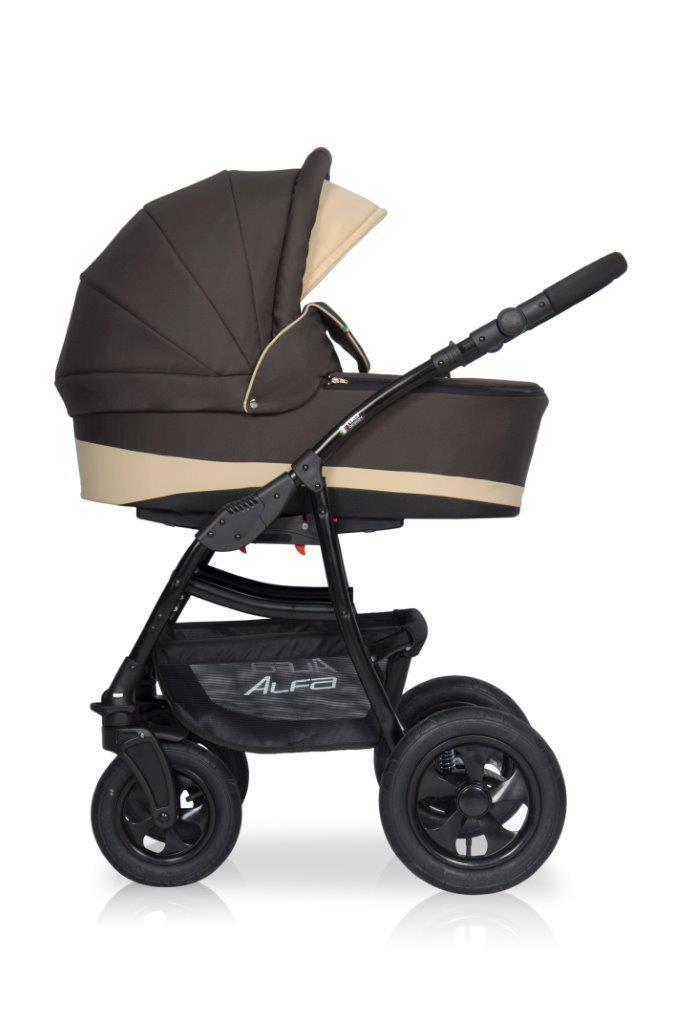 Детская универсальная коляска 2 в 1 Riko Alfa 09