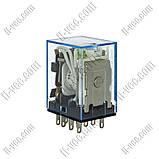 Реле OMRON MY4N-J 24VDC, 5A/24VDC, LED индикатор, фото 3