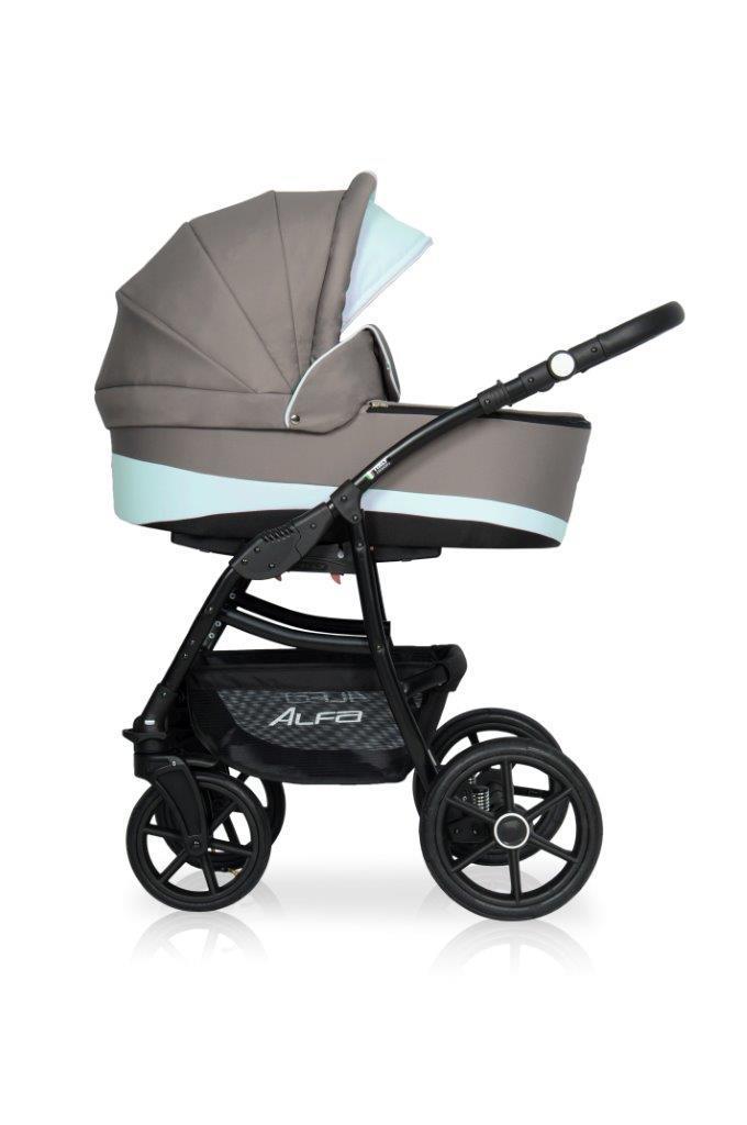 Детская универсальная коляска 2 в 1 Riko Alfa Ecco 07
