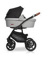 Детская универсальная коляска 2 в 1 Riko Basic 02 Grey Fox