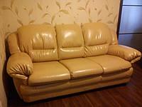 Перетяжка кожаной мебели Днепропетровск.