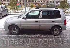 Дефлекторы стекол Mazda Demio 1997-2003 (Мазда демио) Cobra Tuning