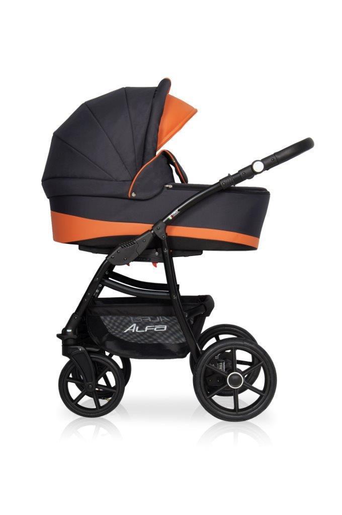 Детская универсальная коляска 2 в 1 Riko Alfa Ecco 06