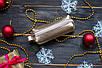 Ключница кожаная 02 золото флотар 06020110, фото 2